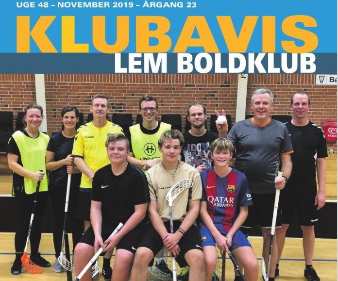 Lem Boldklubs Klubavis online