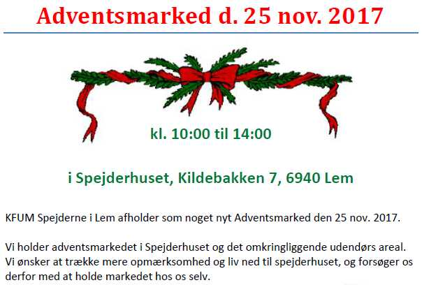 Adventsmarked